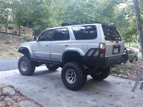 Toyota Of Rock Purchase Used 1997 Toyota Limited 4 Runner Rock Crawler