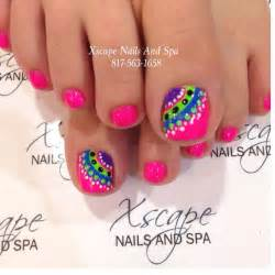 best 25 summer toenail designs ideas on
