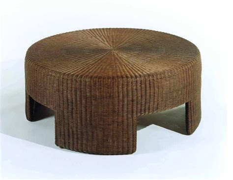 round rattan ottoman coffee table coffee table best production rattan coffee tables new