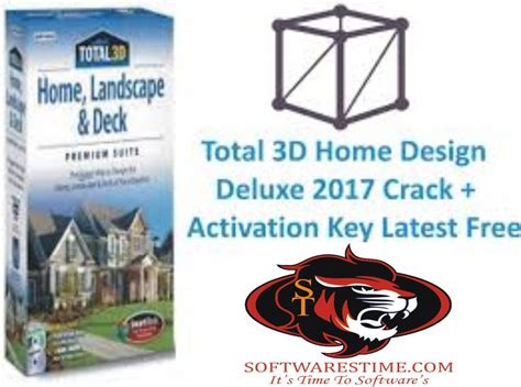 3d Home Design Serial Number by Total 3d Home Design Deluxe 2017 Activation Key