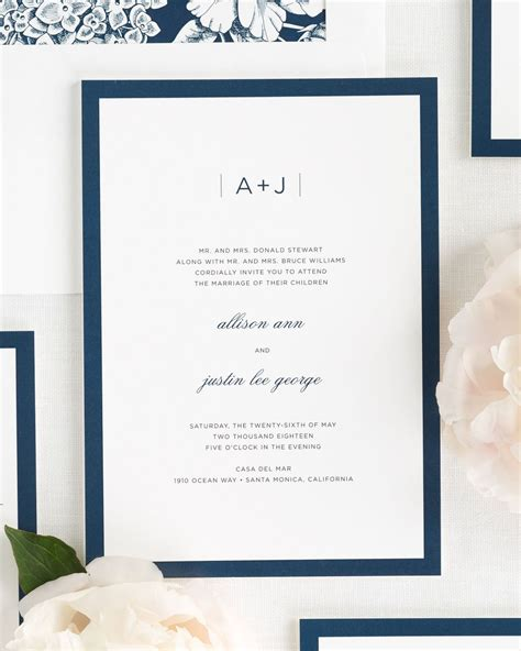 Wedding Invitations Modern by Sophisticated Modern Wedding Invitations Wedding