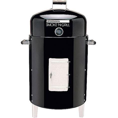 brinkmann smoke n grill charcoal smoker walmart com