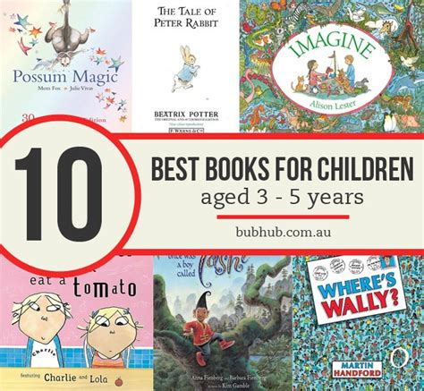 the years books 10 awesome books for children aged 3 5 years bub hub