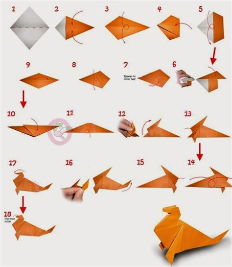 Childrens Origami - easy origami for printable origami flower easy