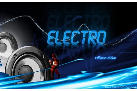 free house music websites electro house music poster by giannivasi on deviantart
