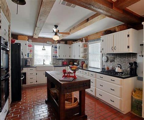 The Best Pattern of Brick Kitchen Flooring   Orchidlagoon.com