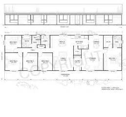 house plans 5 bedrooms daintree 5 met kit homes 5 bedroom steel frame kit home floor plan metkit homes