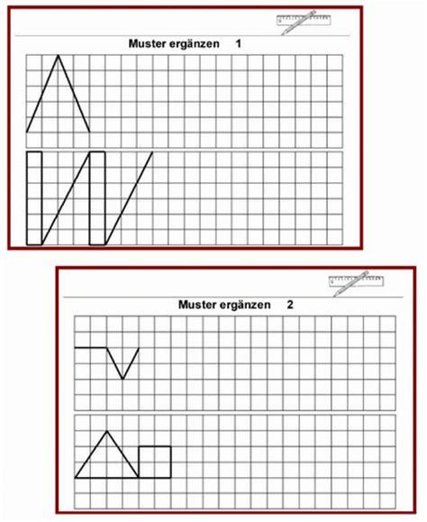 Muster Zeichnen Grundschule Geometrie Kartei Muster Zeichnen Lernbiene Verlag
