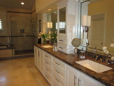 Ideas For Bathroom Countertops paramount granite blog 187 5 emperador dark marble ideas for