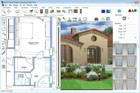 home and landscape design punch software punch home landscape design professional punch home