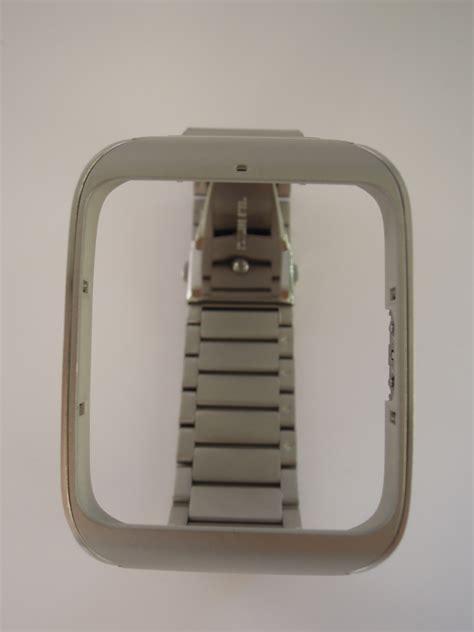 Sony Smartwatch 3 Metal sony swr510 metal wrist genuine stainless steel