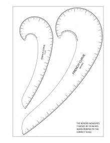 curve template more free printable hip grow your