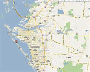 map for longboat key florida sarasota and ta proximity