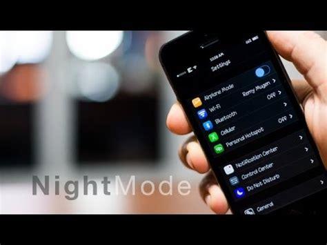 game mod iphone cydia ios 7 cydia tweaks nightmode system wide darkened ui