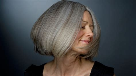 how smooth grey coarse frizzy hair how to deal with thinning hair gray hair solutions