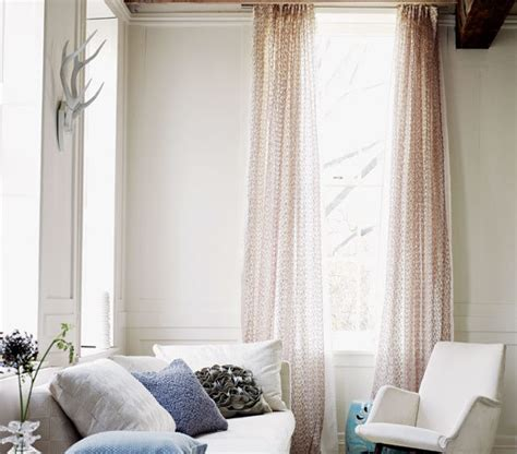 Beige And Pink Curtains Decorating Go Light 16 Apartment Decorating Ideas Real Simple
