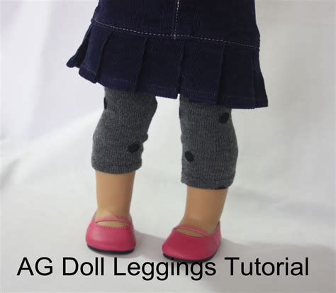 tights pattern for 18 doll tutorial leggings for dolls avery lane sewing