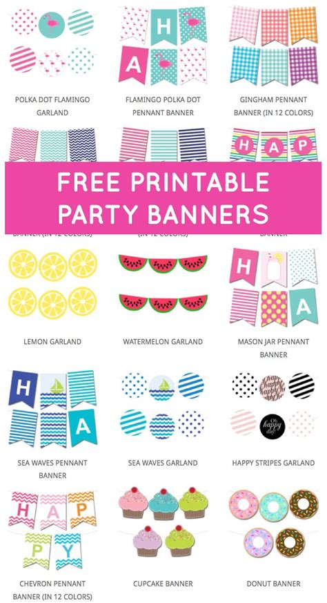 gymnastics party banner template birthday banner editable bunting