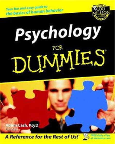 psychology psychoanalysis for beginners books psychology for dummies by adam reviews discussion