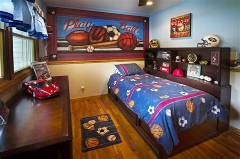 boys sports bedroom sports mural for a boys room murals your way boy room 10939 | ba666fbb63cccd9e74cd2de663c2fb80