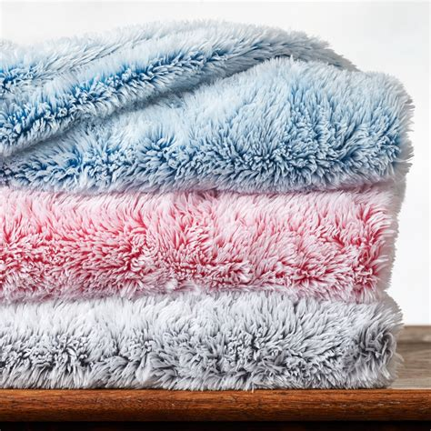 Flauschige Decke by Tipped Fluffy Baby Blanket Baby Berkshire Blanket
