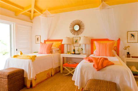 Orange Yellow Bedroom by Orange And Yellow Bedroom Design Ideas Ideas For Interior
