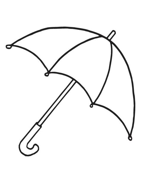 coloring pages with umbrellas coloriages d objets parapluie