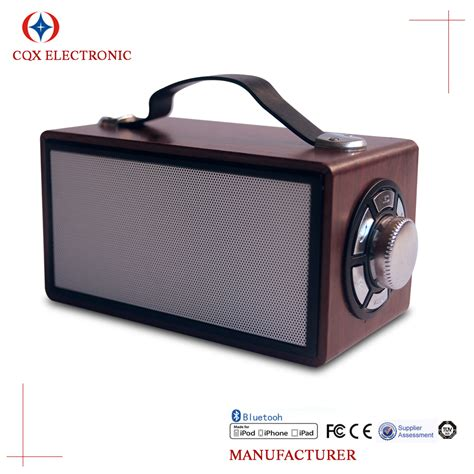 Speaker Advance Portable H 23a Speaker Mobile 1 new high end wood sound box wireless portable mobile
