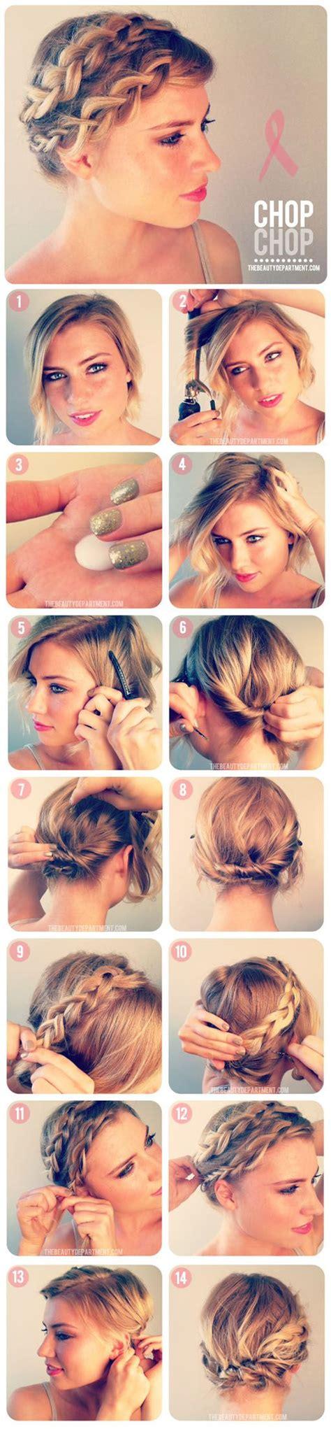 hairstyles short hair tutorial 12 pretty braided hairstyles for short hair pretty designs