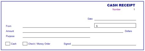 cash receipt template cash receipt template receipt of
