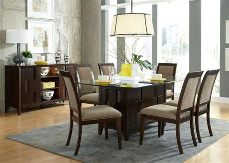 Rectangle Glass Dining Room Table 39 Modern Glass Dining Room Table Ideas Table Decorating Ideas
