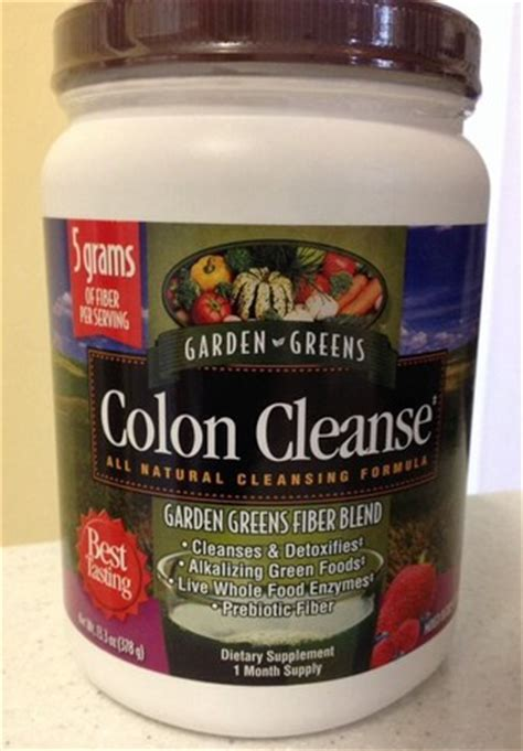 Garden Of Organic Detox by Garden Green Colon Cleanse Fiber Blend