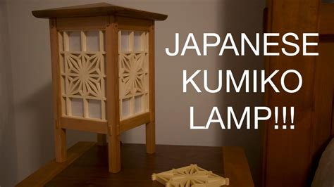 woodworking making kumiko lamps youtube