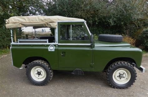 land rover series iii 88 ex military ex military for sale classic land rover military series 3 soft top 88 quot 4x4 for
