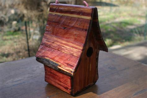 cedar log  bird houses  hand tools  scott
