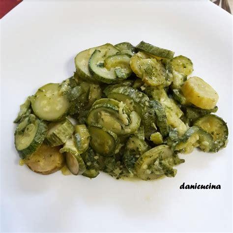 come cucinare le zucchine trifolate zucchine trifolate contorno veloce danicucina