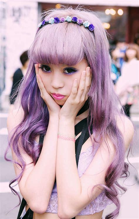 old japanese ladies purple hair 17 best images about lavender blonde on pinterest purple