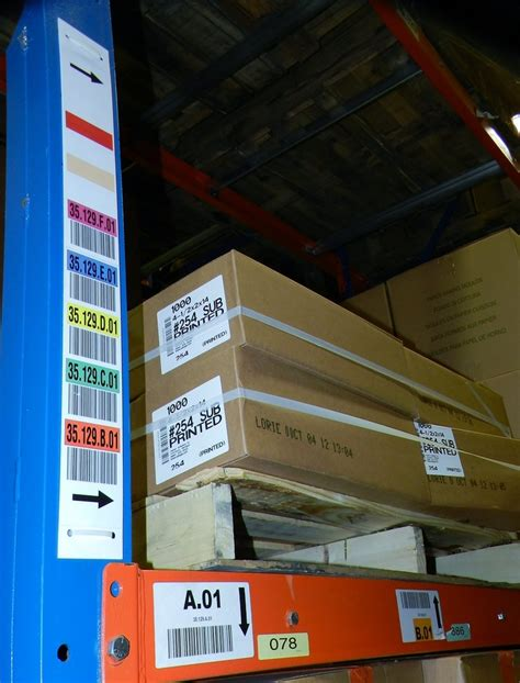 Warehouse Rack Labeling Systems by Warehouse Shelf Labels Pictures To Pin On