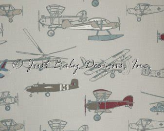 vintage airplane bedding baby bedding fabric vintage airplanes pewter just baby designs custom baby bedding