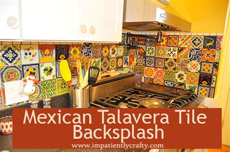 Mexican Tile Kitchen Backsplash kitchen articles at impatiently crafty