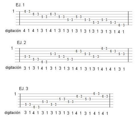 ejercicios para mejorar sincronizaci 243 n y otro t 233 cnica y ejercicios de guitarra y bajo