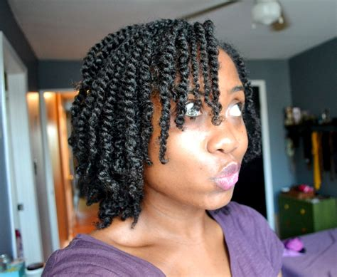 Single Twist Hairstyle by Clipped Ends Salon Visits Back In The Chair Back To Curly