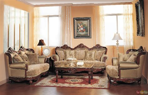 Luxury Living Room Furniture Sets by Bordeaux Luxury Chenille Formal Living Room Sofa And