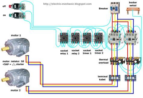 Relay Ac Samsung motor 3 pole switch wiring diagram motor starter wiring