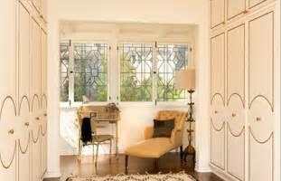 design idea nailhead trim on closet doors and vanity