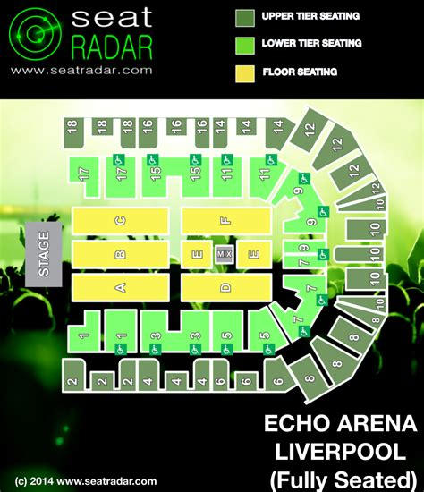 liverpool echo arena floor plan echo arena liverpool fully seated