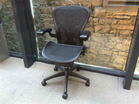 Second Ergonomic Office Chairs by Used Herman Miller Aeron Ergonomic Office Chair