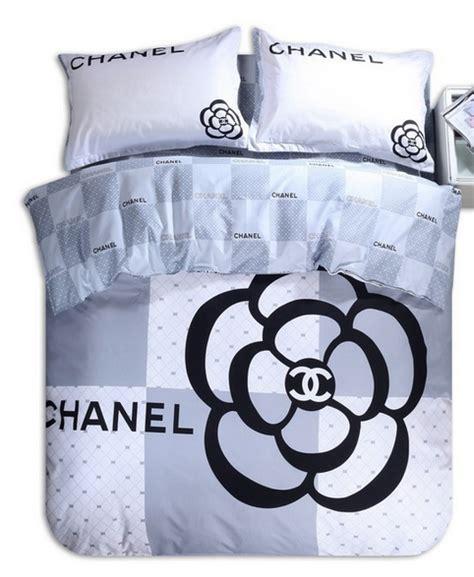Set Chanel Grey Kid chanel grey bedding set