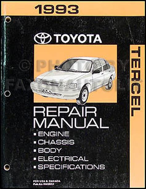 car repair manuals online free 1996 toyota paseo transmission control wiring diagram for 1993 toyota paseo wiring get free image about wiring diagram
