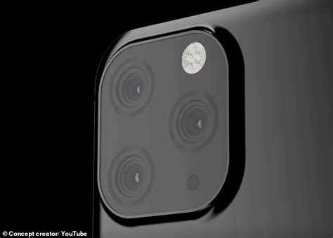 apple to put three cameras on the upcoming iphone 11 daily mail